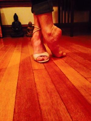 Pies de tango